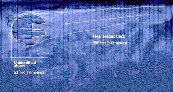 Вблизи НЛО на дне Балтики отказывают электронные приборы