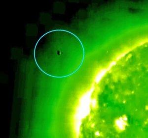 В солнечной короне кишат НЛО