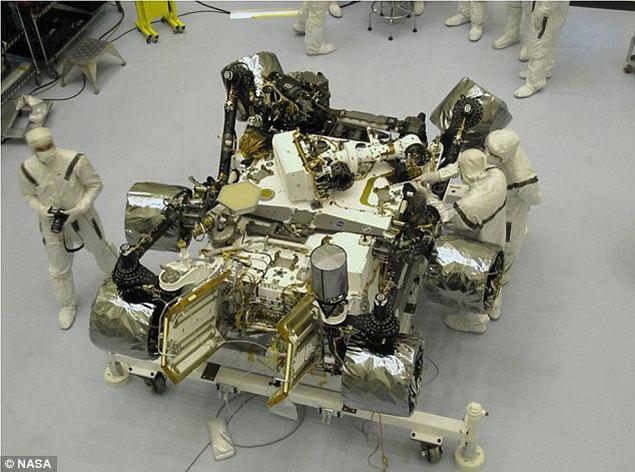 Через неделю до Марса долетит новый робот НАСА (5 фото + 1Видео)