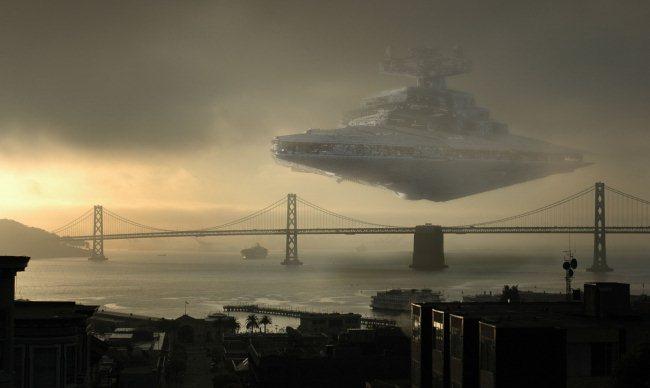 Инопланетяне уничтожают землю