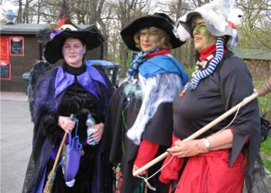 Ведьмы всего мира готовятся к Вальпургиевой ночи