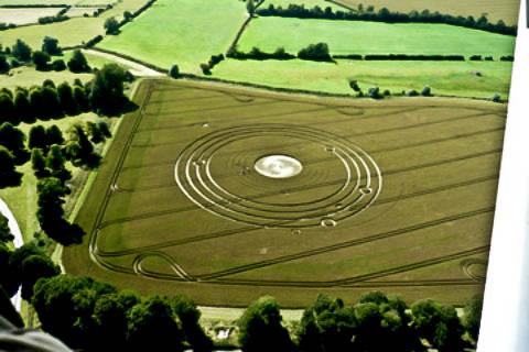 Англичанка 9 лет пытается разгадать тайну кругов на полях (6 фото)