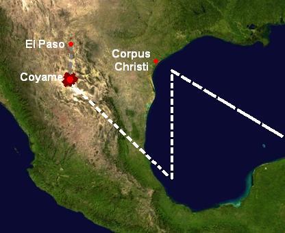 Тайна легендарного крушения НЛО в Кояме (Мексика) (3 фото)