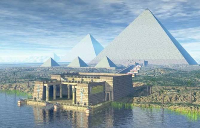Разгадать шифр Великой пирамиды (5 фото)