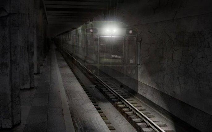 Поезд-призрак в московском метро