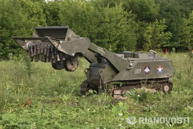 В России принята целевая программа по созданию военных роботов