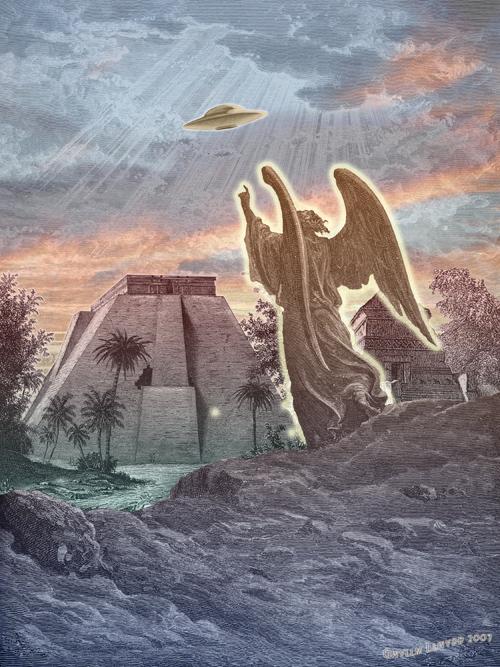 НЛО как транспорт демонов и ангелов (2 фото)
