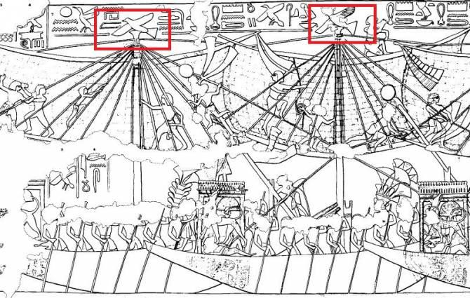 Деревянная египетская птичка: Игрушка или модель самолета? (3 фото)