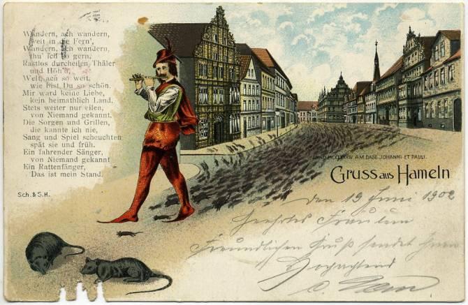 Загадка массового исхода детей из Гамельна (7 фото)