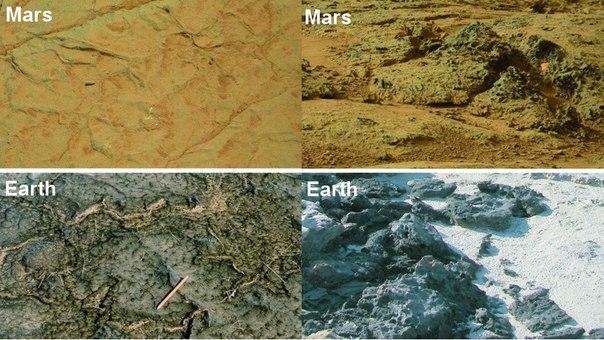 Новые доказательства существования жизни на Марсе