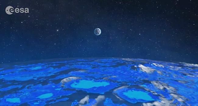 Европейское космическое агентство хочет поселить людей на Луне (3 фото + видео)