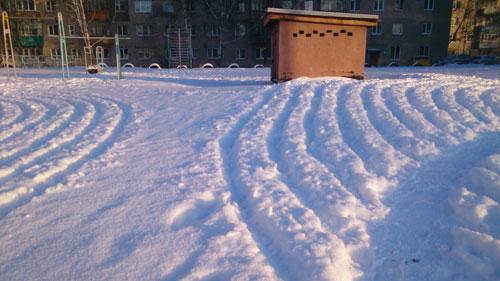 Снежные круги в Пензе: расследование
