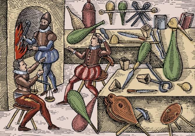Опасная алхимия: Не казнят, так ртутью отравишься (5 фото)