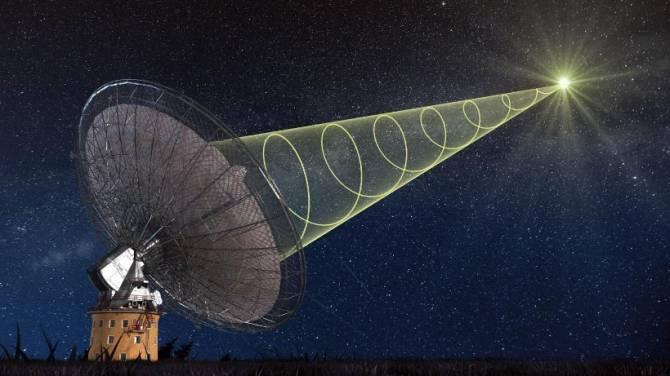 Астрономы поймали сверхмощный радиосигнал из неизвестного источника