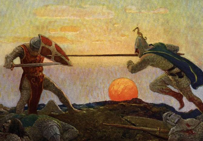 Лайонесс: Затонувшая страна из легенды о короле Артуре (4  фото)