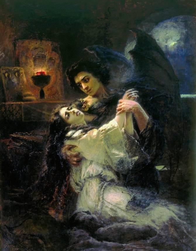Сексуальное фото девушек в образе демона фото 754-166