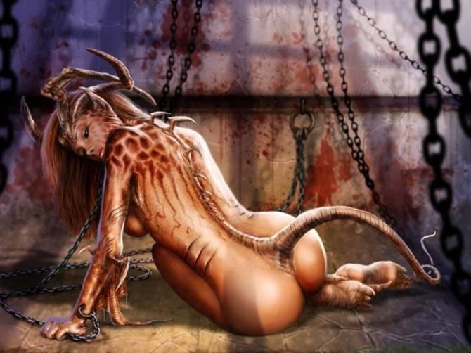 Сексуальное фото девушек в образе демона фото 754-547