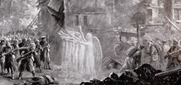 Ангелы Монса и другие аномальные явления Первой мировой войны (3 фото)
