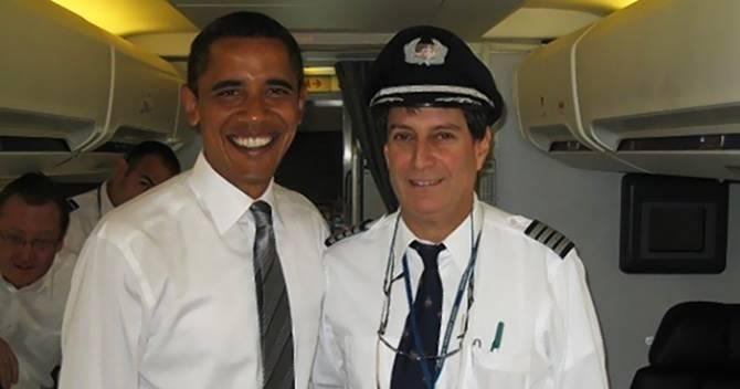 Пилот Обамы рассказал о встрече с НЛО