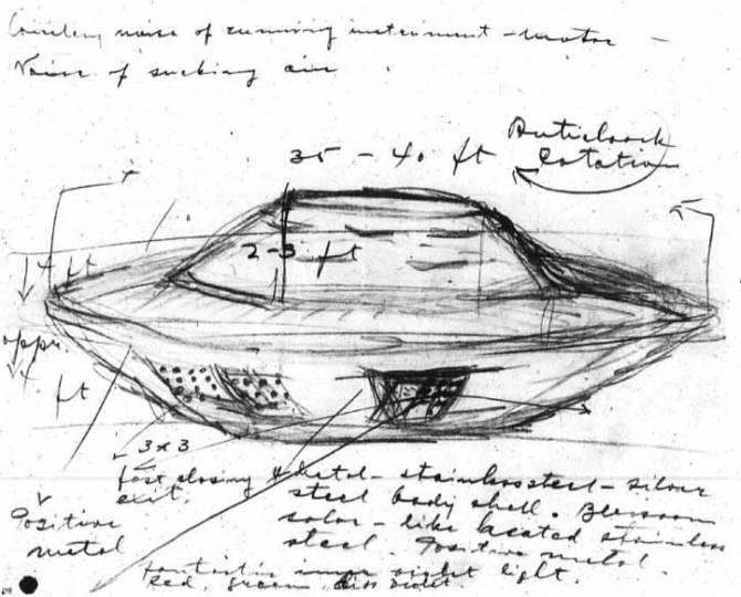 Инцидент с НЛО и лучевой болезнью очевидца в Фалкон-Лейк (4 фото)