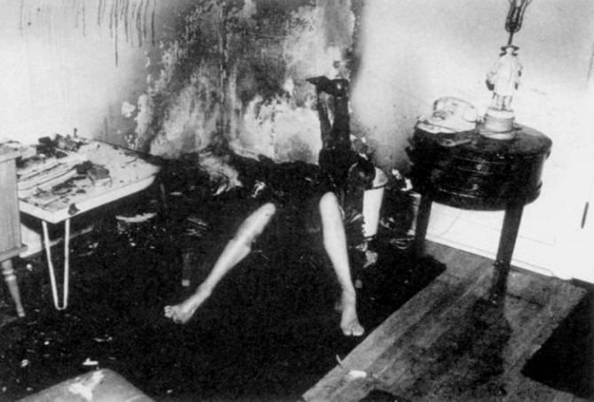 Эпидемия спонтанных самовозгораний человека 1938 года (3 фото)