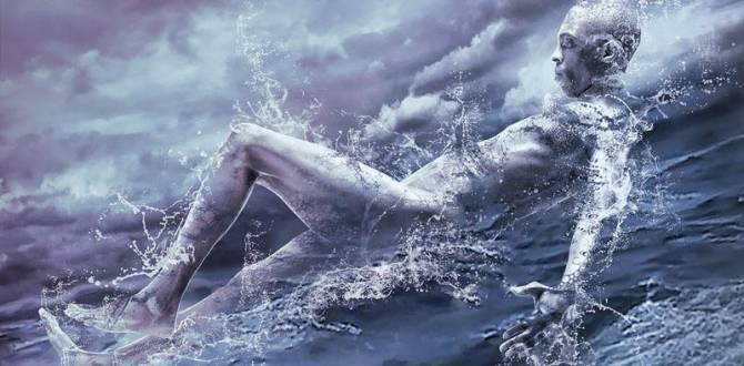 Суадам: Каспийский водяной человек (2 фото)
