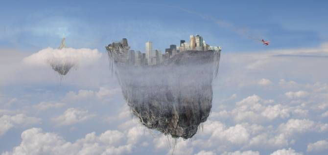 Плывущий по небу «межпространственный город» наблюдали сотни африканцев (3 фото)
