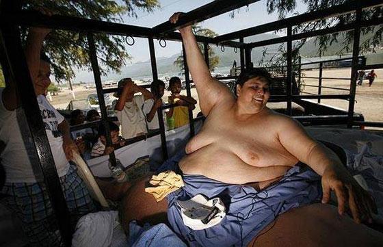 Секс толстяков весом по 200 кг