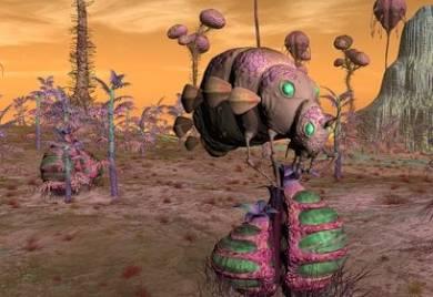 """Внеземную жизнь могут выдать микробные """"солнечные зайчики"""""""
