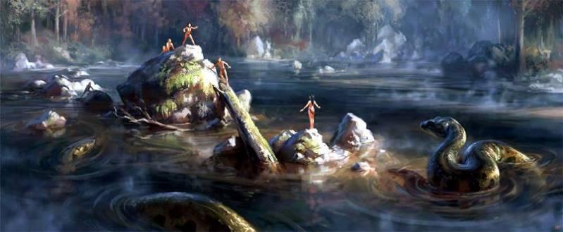 Великий Полоз или тайна мансийской анаконды (5 фото)