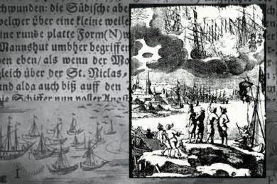 UFO mystery battle over Sweden in 1665