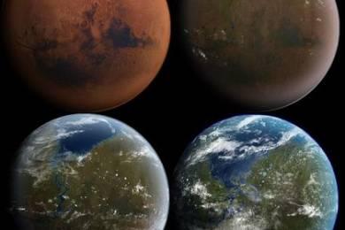 Для терраформирования Марса DARPA готовит особые бактерии (2 фото)