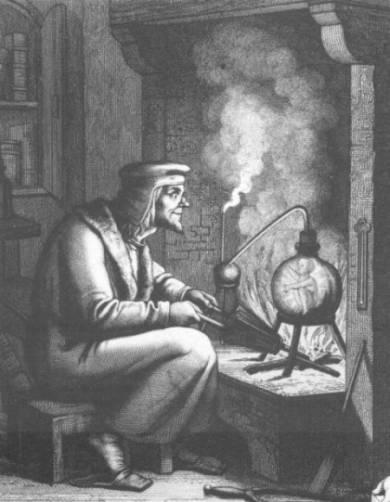 Гомункул: создание маленьких человечков в алхимии (3 фото)