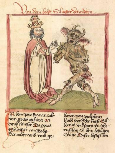 Сильвестр II: Чернокнижник на папском престоле (3 фото)