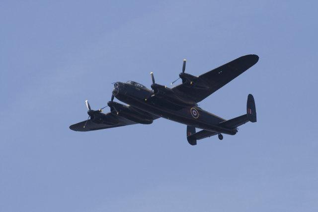 Британцы видели в небе самолет-призрак времен Второй Мировой