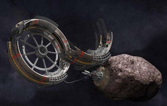 Добыча ресурсов в космосе может начаться очень скоро (2 фото)