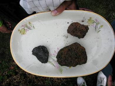 Когда с неба падают камни (4 фото)