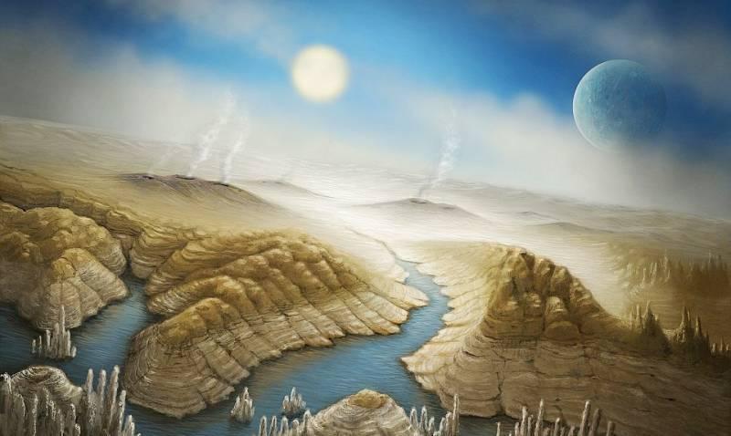 """Телескоп """"Кеплер"""" нашел планету земного типа с жидкой водой (3 фото)"""