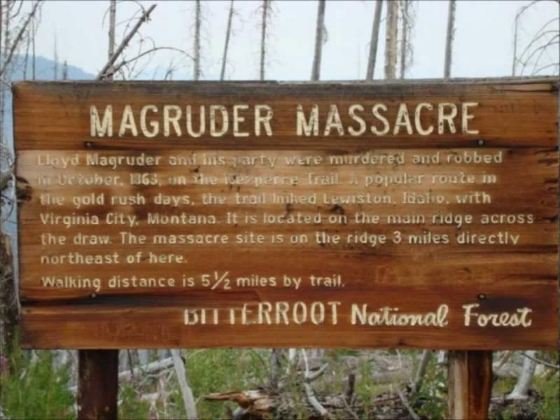 Убийство старателей в Айдахо, раскрытое благодаря сну (5 фото)