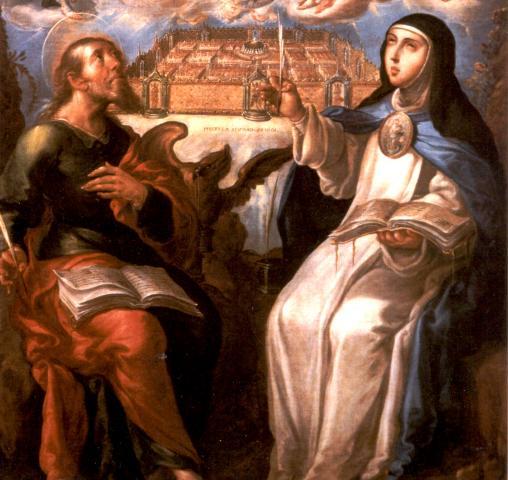 Невероятные полеты испанской монахини Марии Коронель де Агреда (3 фото)