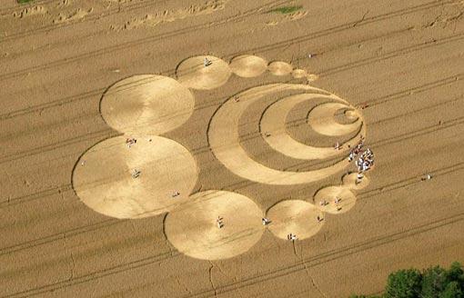Круги на полях были известны людям ещё в XVII веке