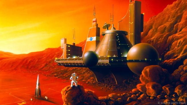 Пять шагов к колонизации Марса (7 фото)