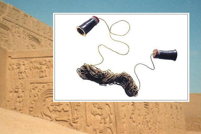 1200-летний телефон: удивительное изобретение цивилизации Чиму (4 фото)