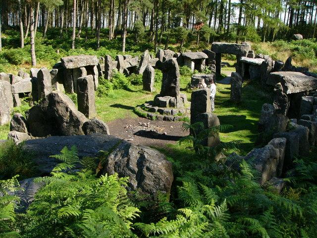 Друиды: Лесные мудрецы древности (5 фото)