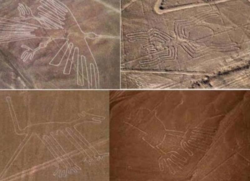 Гигантские рисунки Наска: странные теории и вопросы без ответов (6 фото)