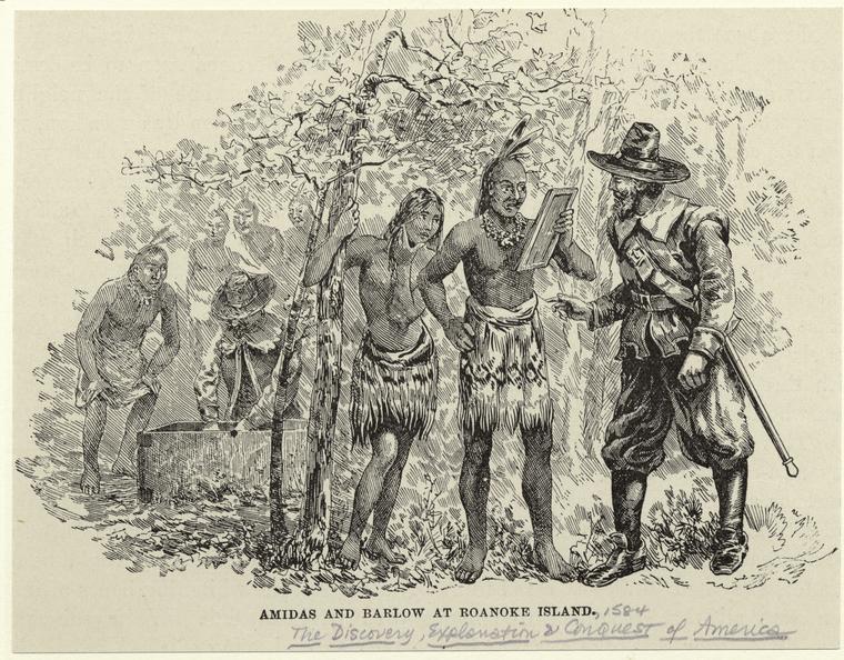 Тайна пропавшей колонии Роанок (4 фото)