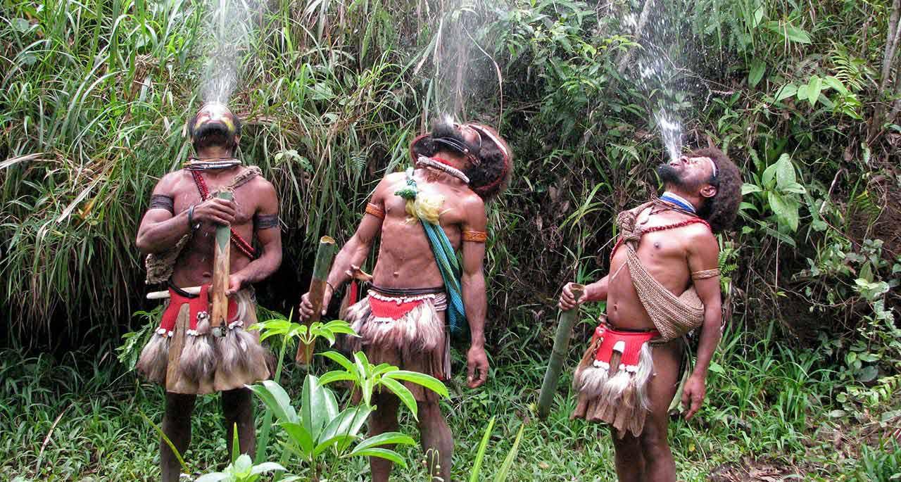 Папуа новая гвинея племена