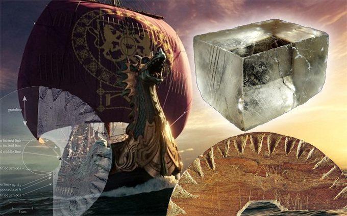 Компас викингов: Загадка солнечных камней (6 фото)