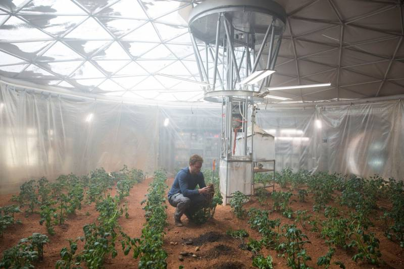 Как наладить сельское хозяйство на Марсе (9 фото)