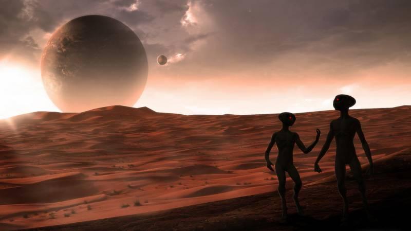 Почему мы так одержимы марсианами? (7 фото)